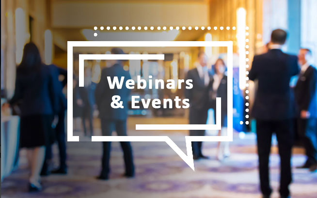 Webinars on Demand and Virtual Events